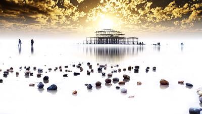Brighton West Pier colours