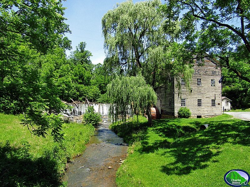 Brightwell's Mill is very scenic.