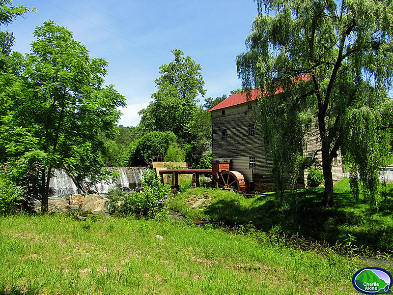 The mill has been around since the 1820's.