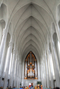 Inside of Hallgrimskirkja