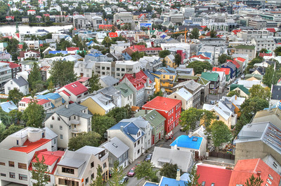 Another picture from the top of Hallgrimskirkja