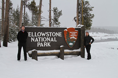 Yellowstone in the winter is a must