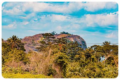 Ekiti Hills somewhere near Iyin Ekiti in Ekiti state of Nigeria.