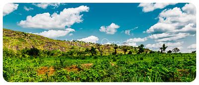 Part of Efon Alaaye ridge in Ekiti State.