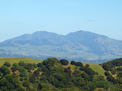 Mt, Diablo from Briones