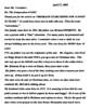 Dolores Gomez's letter RE origin of Stars trad'n