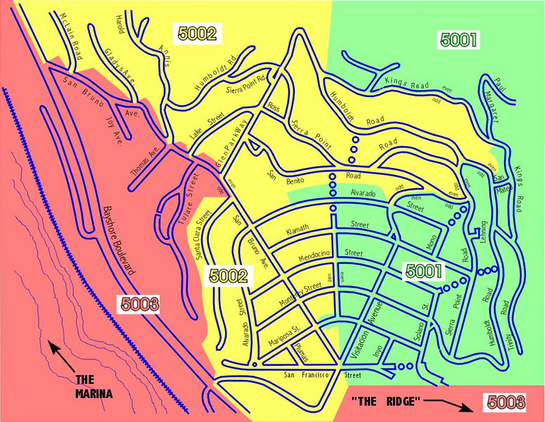 Brisbane precinct map
