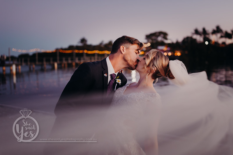 941_A+D Bride and Groom at Sandstone Point Hotel_She_Said_Yes_Wedding_Photography_Brisbane