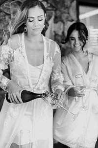 138_Chelsea and Brent Bridal Prep at Preston Peak Wines_She_Said_Yes_Wedding_Photography_Brisbane-_BnW