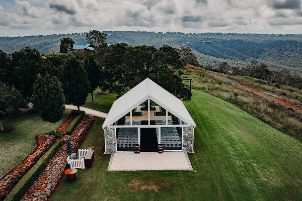 4_Chelsea and Brent at Preston Peak Wines_She_Said_Yes_Wedding_Photography_Brisbane