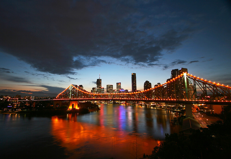 story bridge sunrise brisbane images brisbane photo library stock photos for sale brisbane stock photography