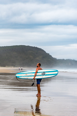 Surfer at Sunshine Beach