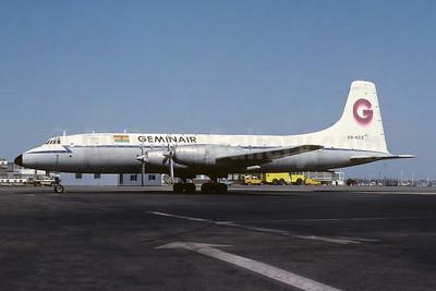 Geminair (Gemini Air Transport) Bristol 175 Britannia 253F 9G-ACE (msn 13514) LTN (Richard Vandervord). Image: 952149.