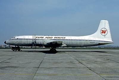 Zaire Aero Service-ZAS Bristol Britannia 252 9Q-CPX (msn 13451) OST (Christian Volpati Collection). Image: 951623.