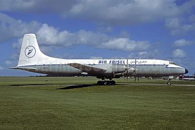 Air Faisal Bristol Britannia 253F G-BEMZ (msn 13457) LTN (Jacques Guillem Collection). Image: 950732.