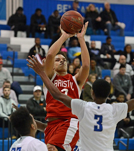 Dayeshawn Cortez (3) shoots over Ward Roberts (3).