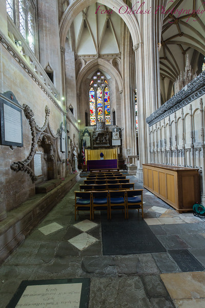 Inside Bristol Cathedral