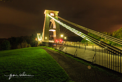 Clifton Suspension Bridge in Bristol