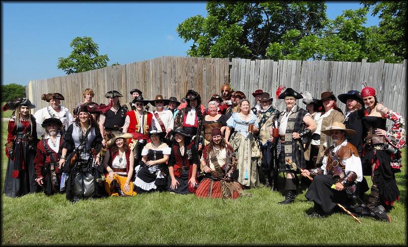 Pirates invade Bristol.