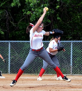 Junior righthander Bryanna Vearling (5) got the starting nod for Bristol vs Greenwood June 6 in PIAA opener.