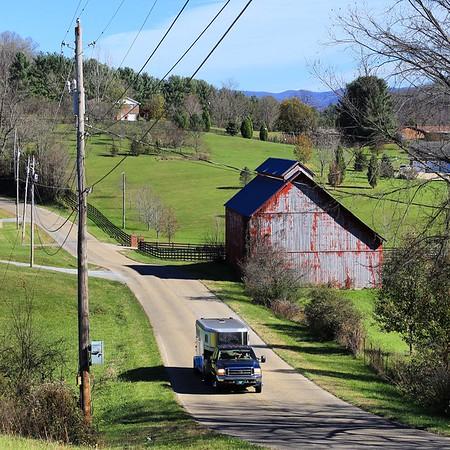 Bristol Virginia & Asheville  North Carolina