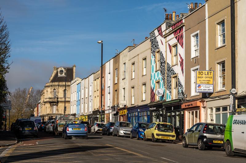 Midland Road in Bristol