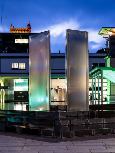 Millennium Square fountains