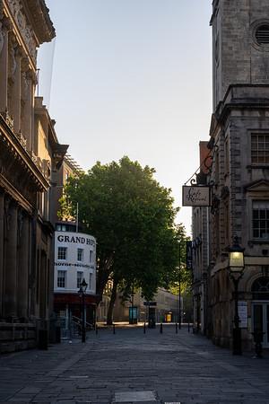 Dawn in Bristol's Old City