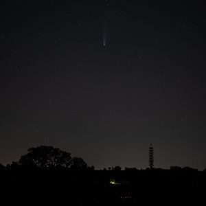 Comet Neowise over Bristol