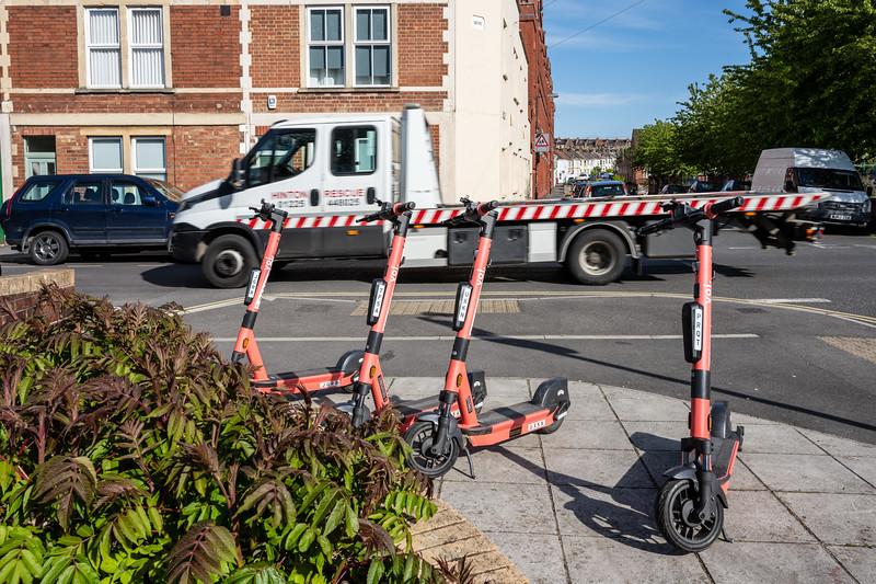 voi hire e-scooters in Bristol