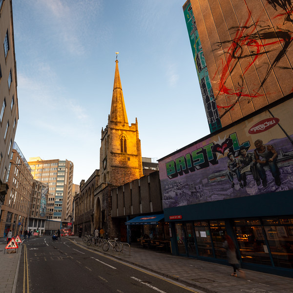 Nelson Street in Bristol