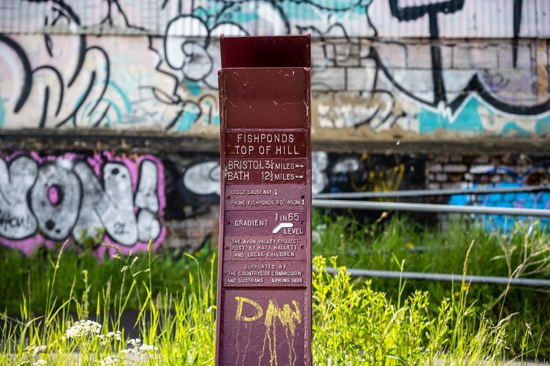 Railway Path milepost
