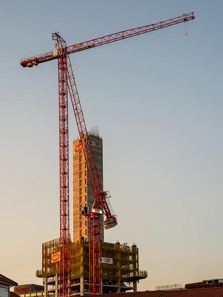 Castle Park View construction