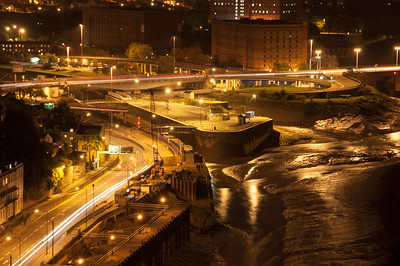 Lights on the Portway