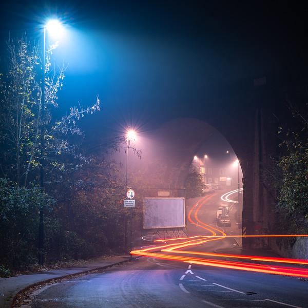 Royate Hill light trails