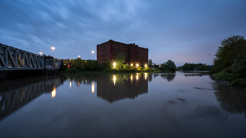 River Avon sunset