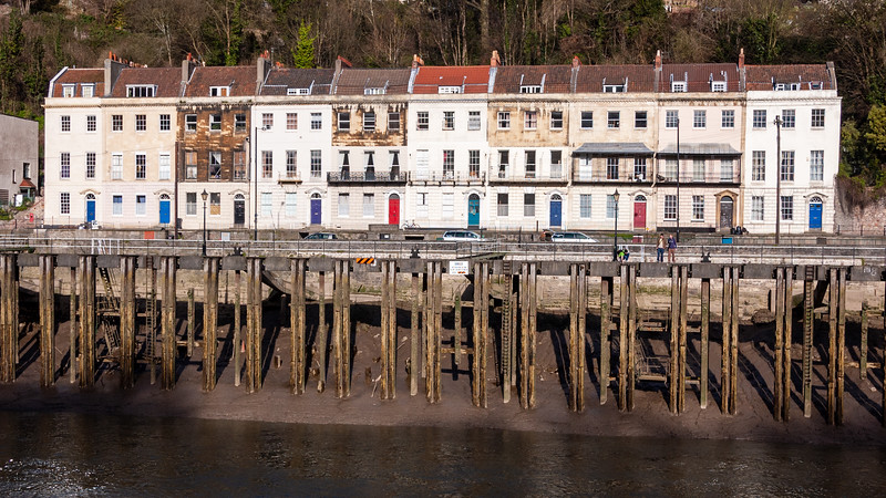 Hotwells houses and jetty