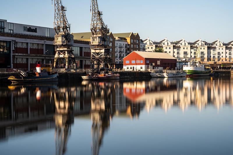 Dawn on Bristol Harbour