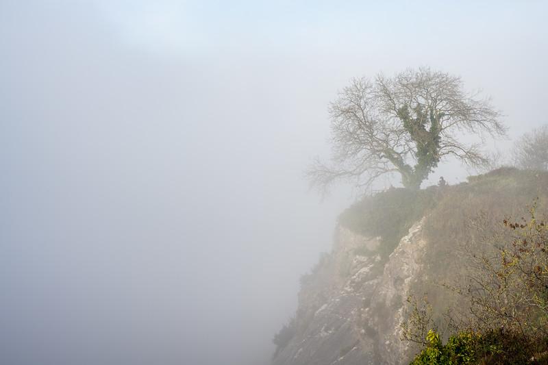Avon Gorge fog