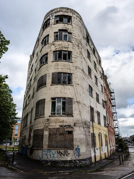 Derelict Grosvenor Hotel