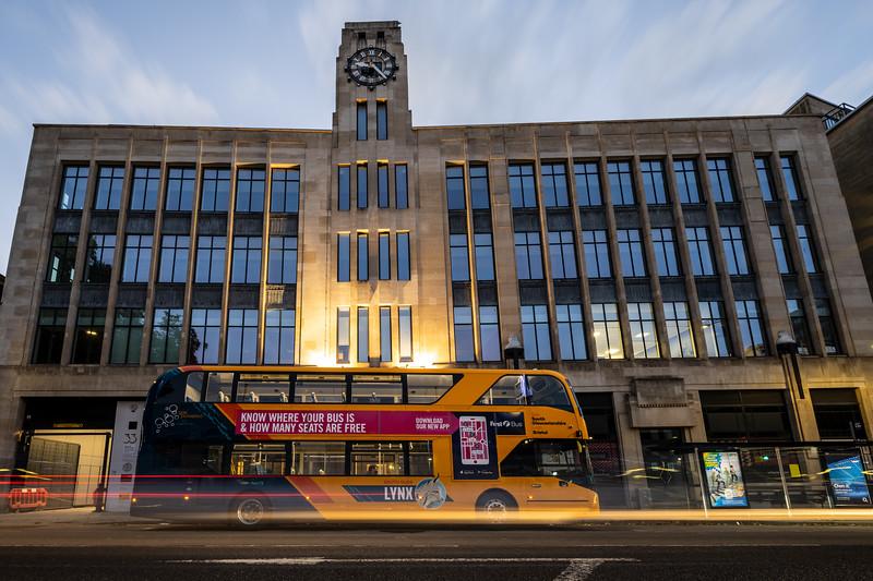 Bristol Bus on Colston Avenue