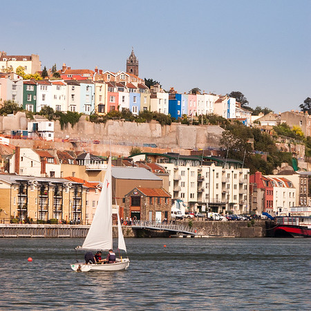 Bristol Harbour and Hotwells houses