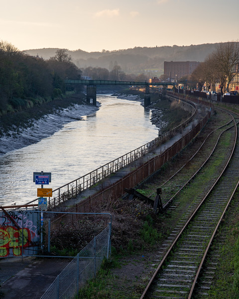 Bristol Harbour Railway and the Avon New Cut