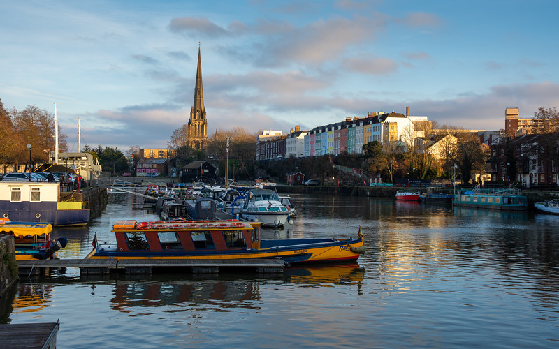 Bristol Harbour cityscape