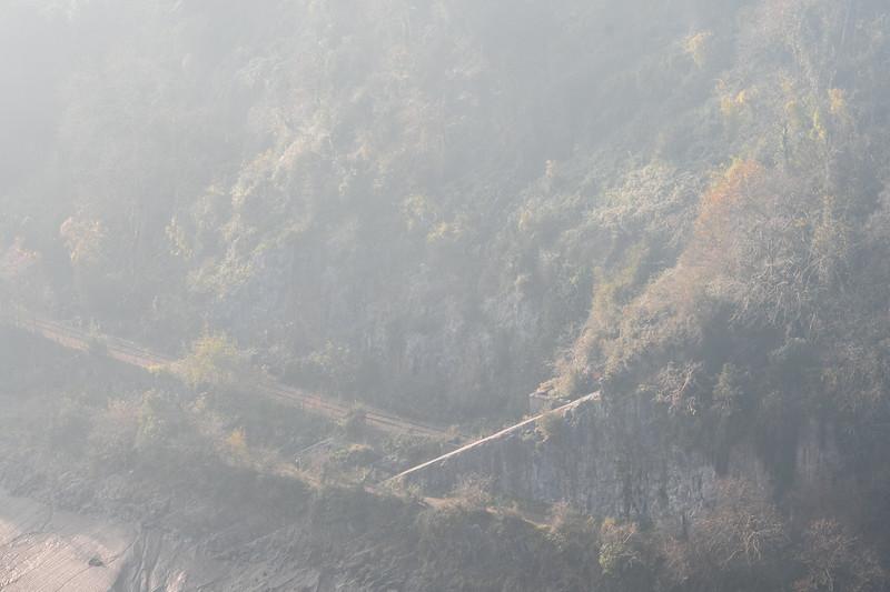 Portishead Railway in the Avon Gorge
