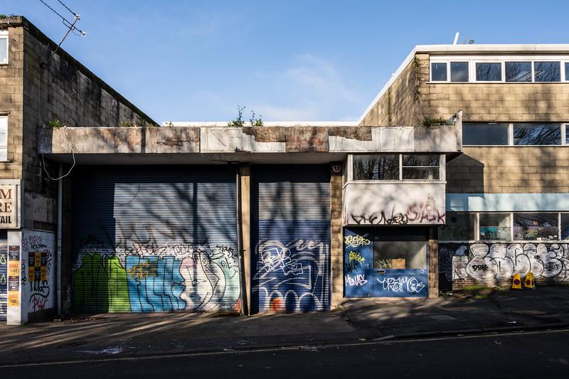 Derelict showroom in Old Market