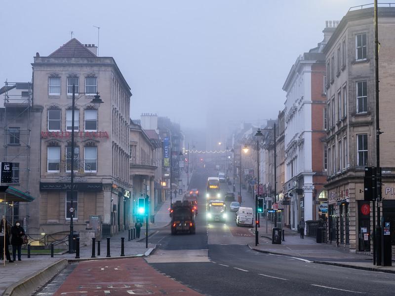 Park Street in mist