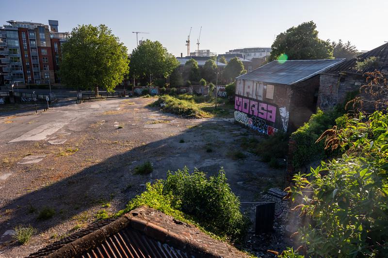 Redcliffe Wharf wasteground