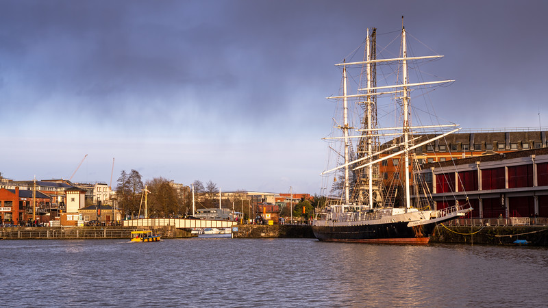 Lord Nelson in Bristol Harbour