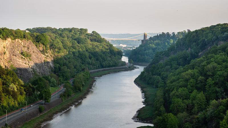 Avon Gorge and Clifton Suspension Bridge